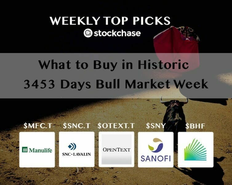 Weekly toppicks bullmarket