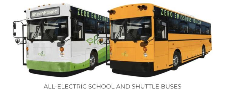 Greenpower School Bus
