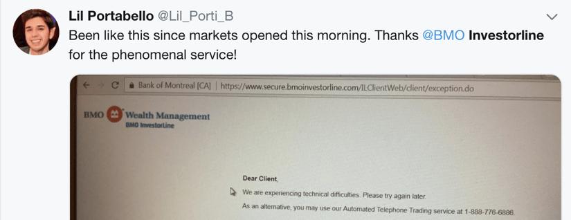Questrade vs bmo investorline twitter 1