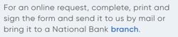 Questrade vs national bank direct brokerage