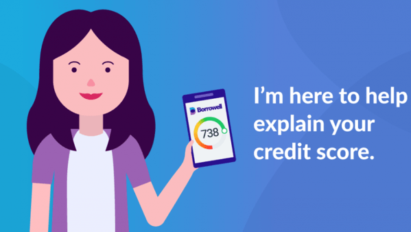 Borrowell credit coach explain credit score