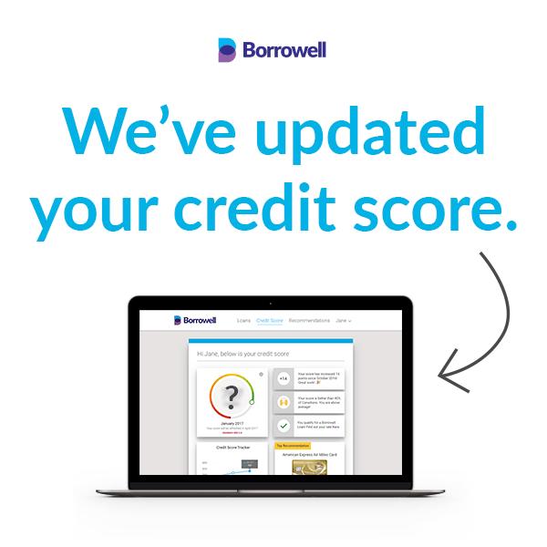 Borrowell free credit report