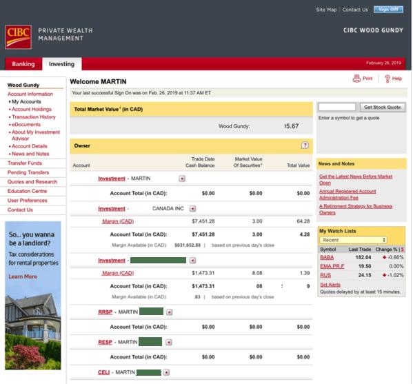 Questrade vs cibc investors edge screenshot 1modified