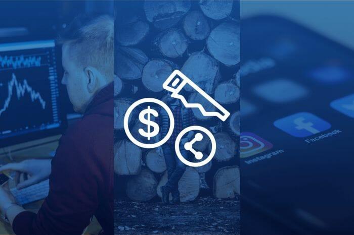 3 Bullish Stocks in Financials, Lumber and Social Media